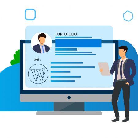 Membuat website portofolio dengan WP dan Elementor
